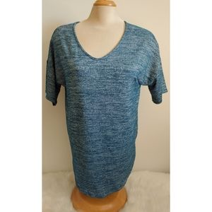 Simply styled shimmer blouse medium